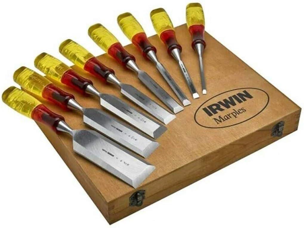 Irwin Marples XMS Set di 8 scalpelli con manici anti rottura edizione limitata