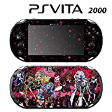 Decorative Video Game Skin Decal Cover Sticker for Sony PlayStation PS Vita Slim (PCH-2000) - Monster High Ghoul Bloody Dolls