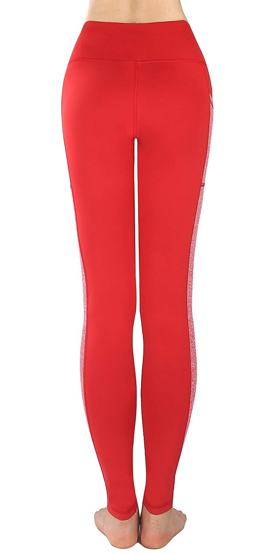 Munvot Femme Pantalon De Sport Taille Haute Collants Fitness Yoga ... 5319113004e