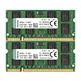 Kingston 4 GB DDR2 SDRAM Memory Module 4 GB (2 x 2 GB) 667MHz DDR2667/PC25400 DDR2 SDRAM 200pin KTA-MB667K2/4G