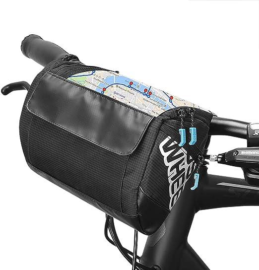 vertast 2017 nueva bolsa de manillar de bicicleta de diseño grande ...