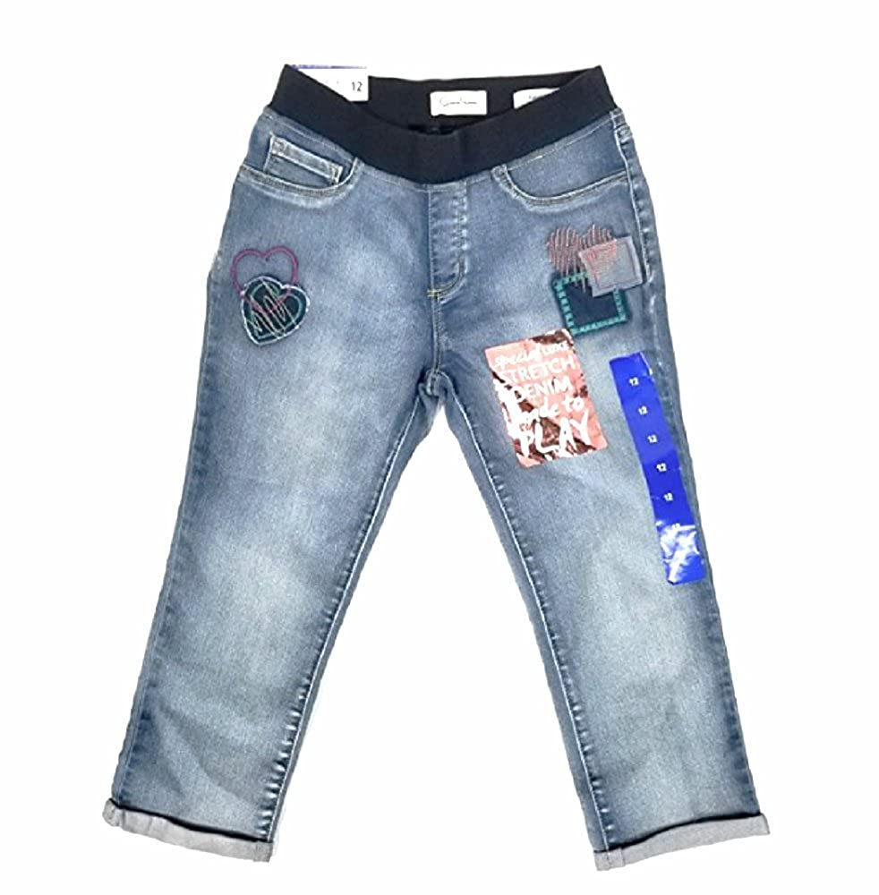 Jessica Simpson Big Girls Special Luxe Roll Crop Jean Peony // SIZE12