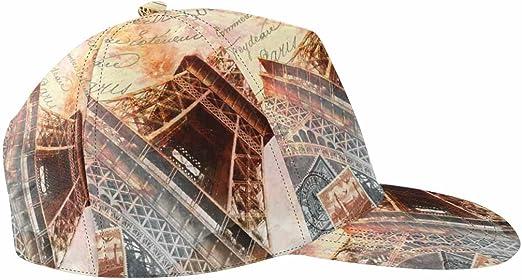 Unisex Stylish Slouch Beanie Hats Black Paris Eiffel Tower Top Level Beanie Men Women