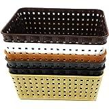 CSM Baskets Multipurpose Storage Basket Combo of 6 Small Size