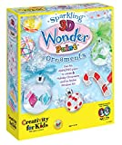 Creativity for Kids Sparkling 3D Wonder Paint Kit - Holiday Ornaments