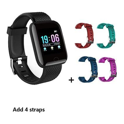 Smartwatch Los rastreadores de fitness inteligente reloj de los ...