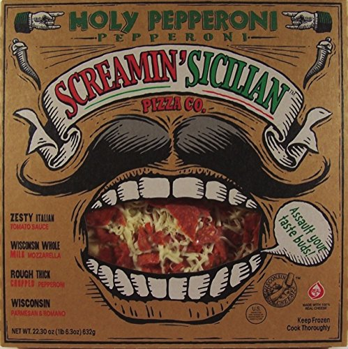 SCREAMIN SICILIAN PIZZA HOLY PEPPERONI 22.3 OZ PACK OF 2