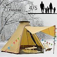 Vidalido 12'x10'x8' Anti Snow Tent 4-5 Person 4 Season...