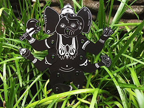 Ganesha - articulated paper doll - Indian God paper puppet -