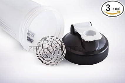Zeta Athletics Blender Stainless Mix Shaker Ball 3 Pack