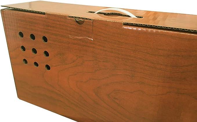 Cajeando | Pack de 5 Cajas de Cartón Jamoneras | Tamaño 86 x 14,5 x 27 cm | Para Guardar Jamones o Paletillas | VARIOS PACKS | Fabricadas en España: Amazon.es: Oficina y papelería