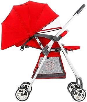 Amazon.com: YYLVM cochecito de bebé de ciudad para correr ...