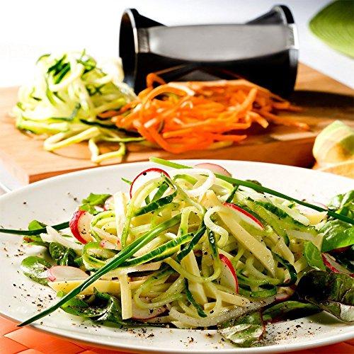 roogo vegetable spiral slicer vegetable spiralizer best kitchen hand zucchini pasta noodle. Black Bedroom Furniture Sets. Home Design Ideas