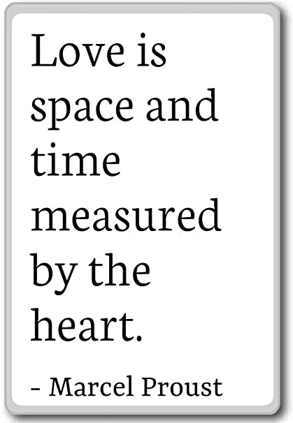Amazoncom Love Is Space And Time Measured By The Heart
