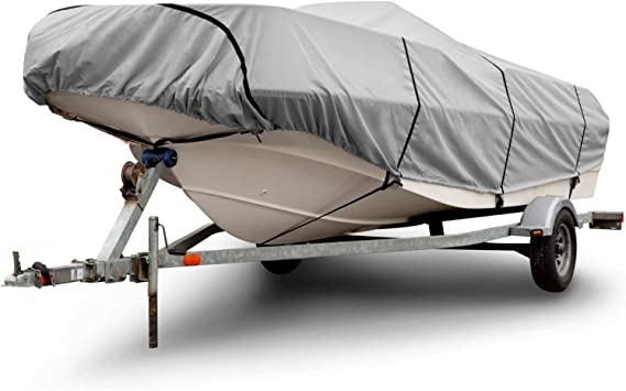 UV Resistant Budge BA-39 Boat Cover Support System Black 27 Long Waterproof