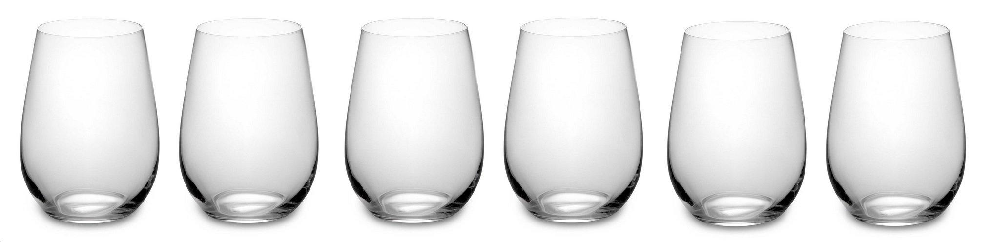 Riedel 260 Years Celebration, O Riesling/Zinfandel Glasses, Set of 6