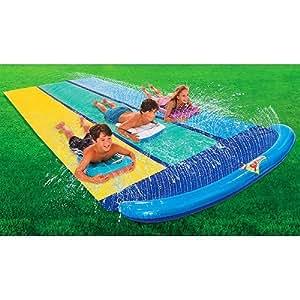 Amazon.com : Inflatable Slip N Slide Racer Water Park ...