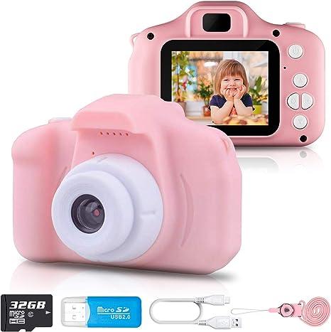 IXROAD Camara de Fotos para Niños 1080P Juguetes para Niña con ...