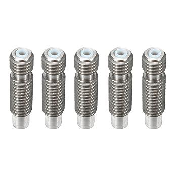 Zzanggu® Extrusor de 1,75 mm tubo (5 piezas) boquillas metálicas ...