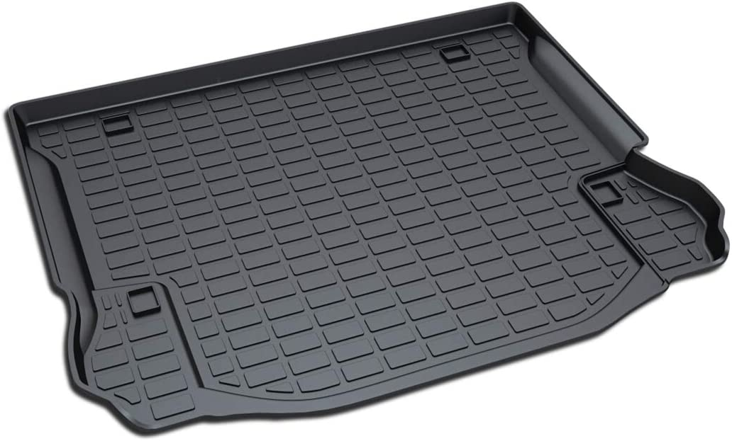 Aiqiying Cargo Liners,Black Heavy Duty/ Rubber Waterproof Rear Cargo Tray Trunk Floor Mat Protector Custom Fit/ for 2011 2012 2013 2014 2015 2016 2017 Jeep Wrangler 4-Door