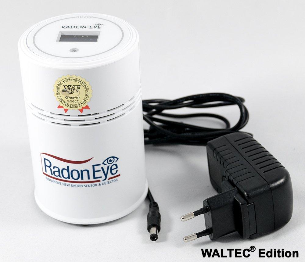 waltec®  Juego de radoneye USB Cable instrucciones alemán Radon Medición Consejos
