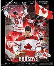 Frameworth Sidney Crosby 16x20 Plaque Team Canada 2010 Collage, 16x20, Black