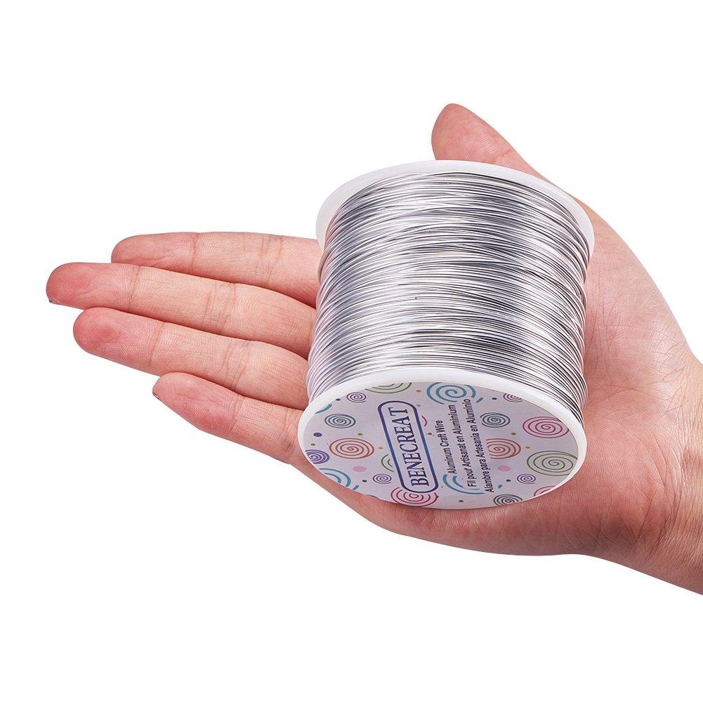Amazon.com: BENECREAT 12 17 18 Guage Aluminum Wire (18 Gauge, 492 FT ...