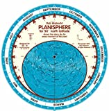 Planisphere for 50 Degrees North Latitude: Shows the Starry Sky for Every Moment of the Year (English planispheres)