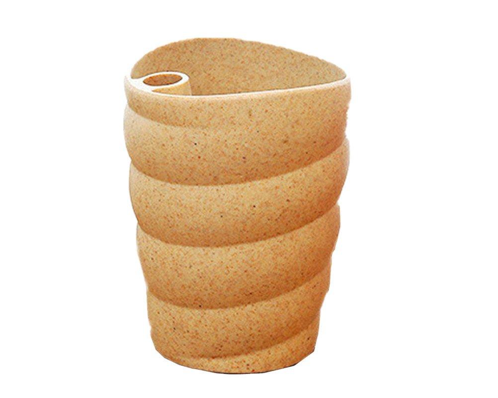 【初回限定】 anbover Unbreakable Drink Rinseカップ13.5oz Rinseカップ13.5oz Tumblers for水、コーヒー Size、ミルク Unbreakable、ジュース、Tea Environmently Wheat Strawマグカップ Free Size ベージュ Free Size ベージュ B06XRY4J93, 贅沢屋:4c867394 --- svecha37.ru