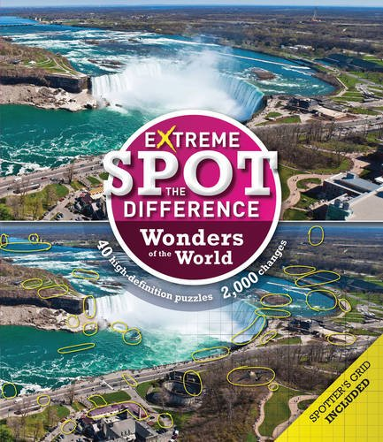 Extreme Spot-the-Difference: Wonders of the World pdf epub