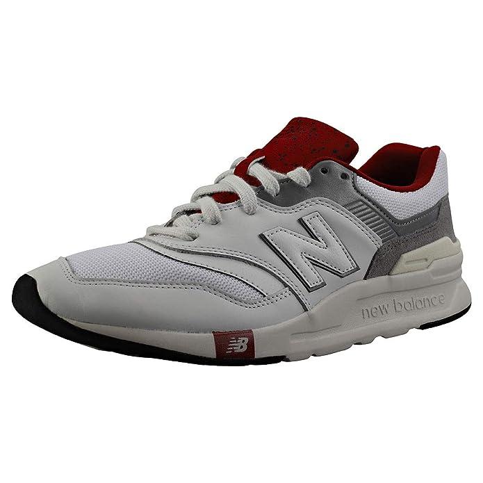 New Balance 997H Core Sneaker Herren Grau Weinrot