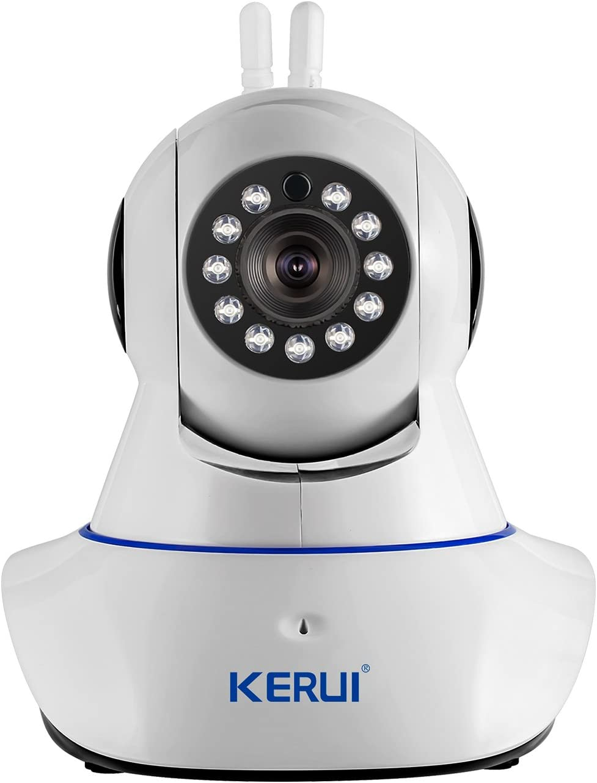 KERUI N62 WiFi Wireless 720p IP Camera Video Monitoring/Network Camera Surveillance/Video Security Camera/Home Security System, Baby Monitoring with APP