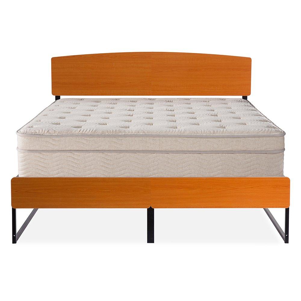 Olee Sleep OLR14BF12K 14BF12K Platform Bed King Brown by Olee Sleep
