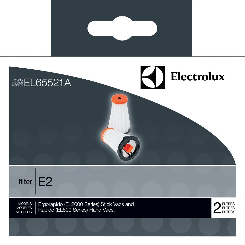 Electrolux Style E2, EL2000 Series & EL800 Series Vacuum 2 Filters # EL65521A Genuine EL2000 & EL800 Series Vac