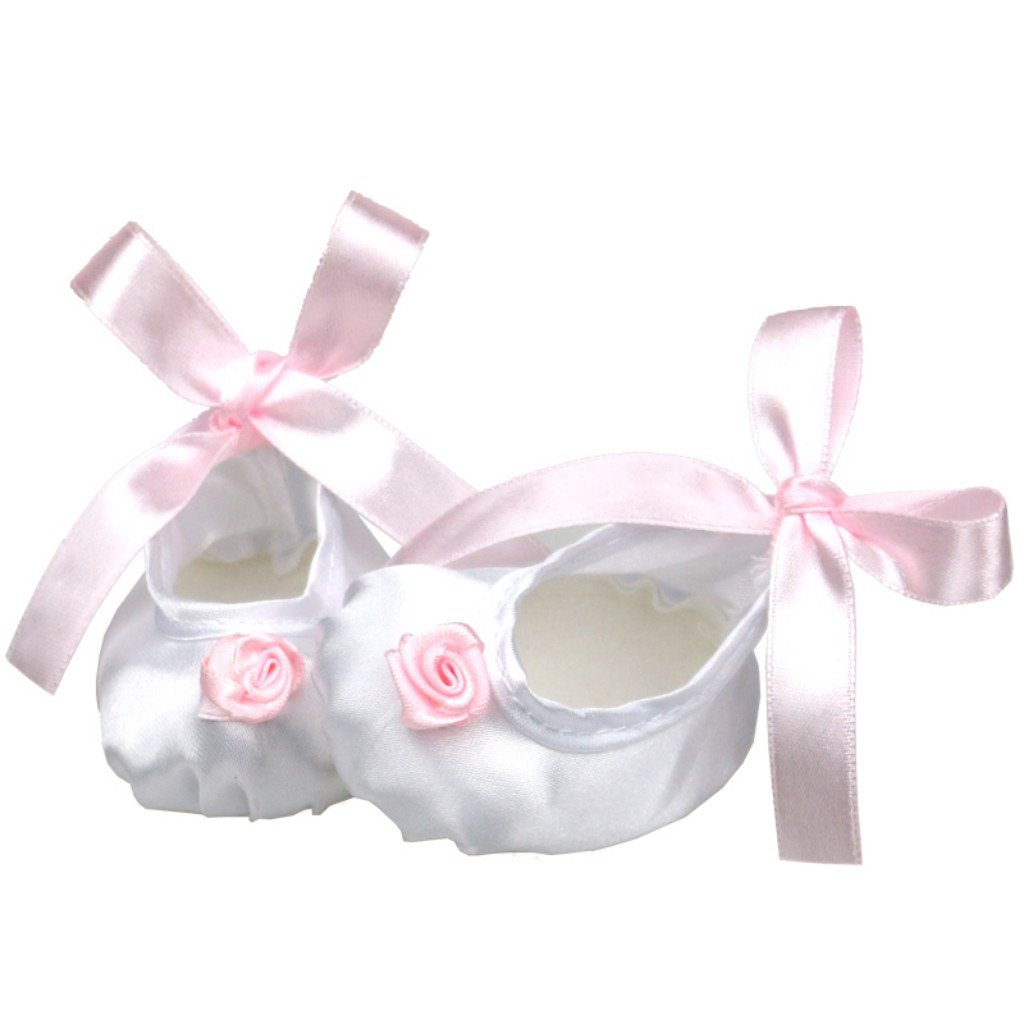 White Ribbon Baby Doll Shoes Inches American Girl