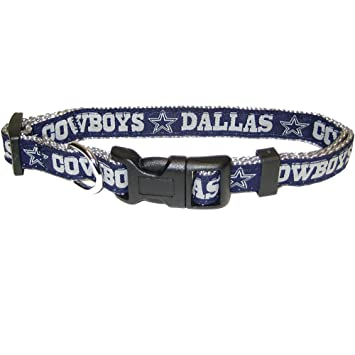 promo code 8dd02 3eb12 NFL DOG COLLAR. 32 NFL Teams available in 4 Sizes. Heavy-Duty, Strong &  Durable NFL PET COLLAR. Football Gear for the Sporty Pup.