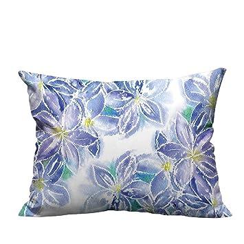 Amazon.com: Bedsure fundas de almohada tipo de patrón de ...