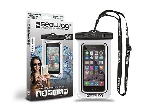 Seawag 5,7 WATERPROOF Smartphone H/ülle white//black