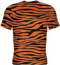 381215cd05 LightningWear Tiger Print Short Sleeve Shirt - Tiger Shirts - Tiger Print  Shirts