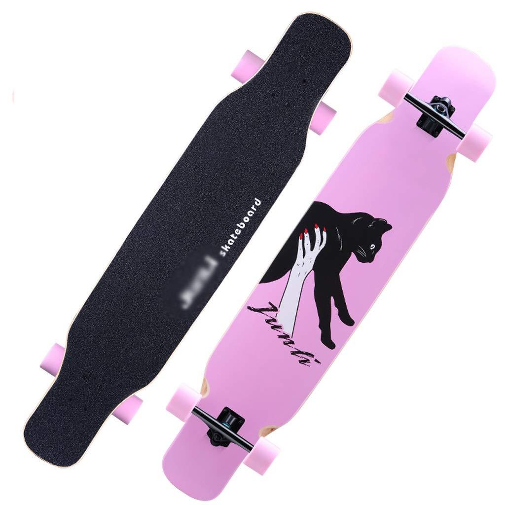 週間売れ筋 DUWEN スクーター大人の女の子四輪スケートボードロードプロフェッショナルブラシストリートダブルアッパーボーイズダンスボードロングボード初心者スクーター (色 D : (色 D) DUWEN B07NRLLW4R D, 匠の道具箱:aa3dd31e --- a0267596.xsph.ru