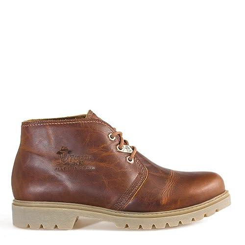 PANAMA JACK Bota Panama C43 - Botas de Piel para Hombre, Color marrón, Talla 46: Amazon.es: Zapatos y complementos