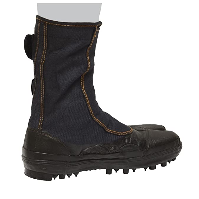 Amazon.com: Japanese Tabi Shoes Ninja Boots Black 30CM(US12 ...