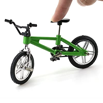 redcolourful High Quaility Creative Simulation Mini Alloy Finger Bikes Children Fingerboard Bicycle Toys Gift Funny: Home & Kitchen