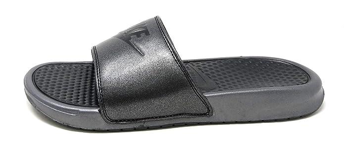sports shoes 11802 56485 Amazon.com   Nike Women s Benassi JDI Metallic QS Sandal   Sport Sandals    Slides
