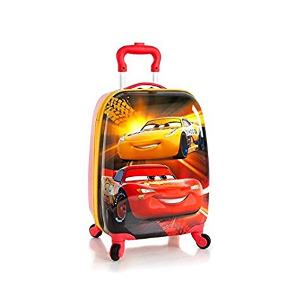 Heys Disney Kids Multicolored 18 Inch Carry-on Spinner Luggage - Cars