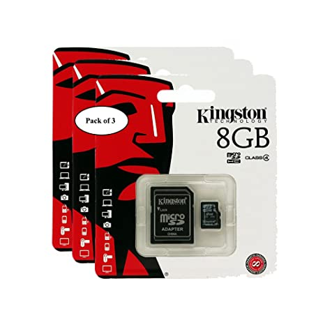 Kingston - Tarjeta de Lectura Digital (8 GB, microSDHC ...