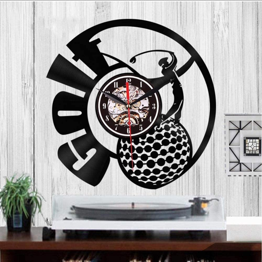 Amazon Com Mubgo Wall Clocks 1pc Golf Club Wall Decor Personality