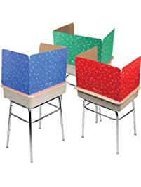 Really Good Stuff Privacy Shields for Student's Desks – Keeps Their Eyes on Their Own Test/Assignments