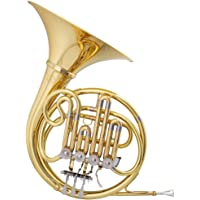 Silver Toygogo French Horns Four-Tone Horn Musical Instrument Children Musical Instrument Toy Puzzle Musical Instrument Musical Gift for Kids Children