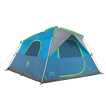 COLEMAN 6 Person Family Camping Instant Cabin Tent W/ WeatherTec | 10u0027